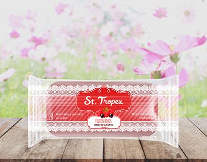 St Tropez Soap Packaging