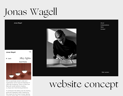 Jonas Wagell / Website