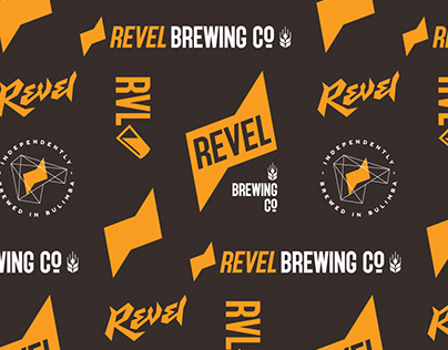 Logo & Packaging Design for Revel Brewing Co