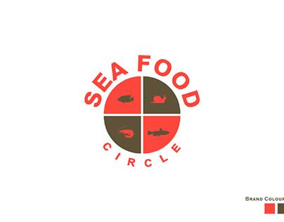Sea food Circle logo