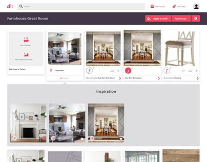 Dream book Web App - UI Design Case Study