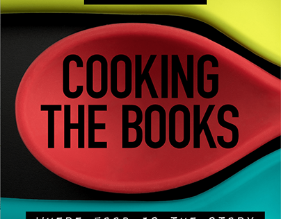 COOKING THE BOOKS PODCAST DESIGN