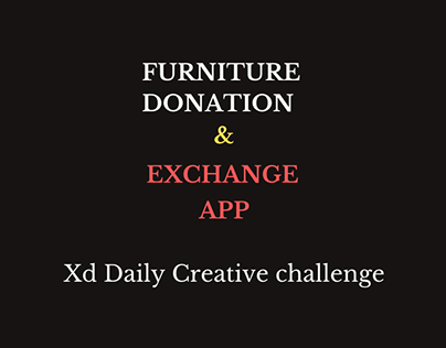 Furniture Donation App