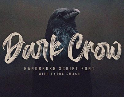 Dark Crow / Brush Font