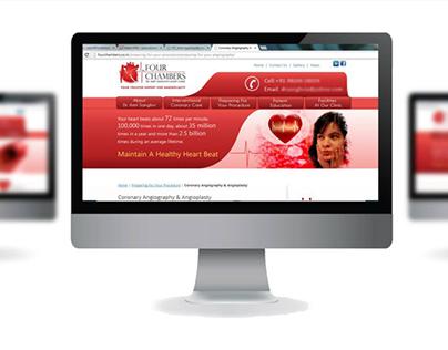Four Chambers Heart Clinic Branding