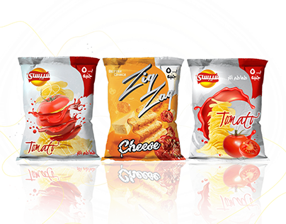 Unofficial Potato Chips Packaging Design
