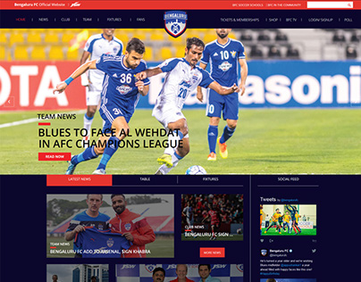 BangaloreFC Website
