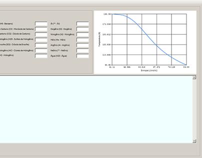 VB Desktop - Propriedades Termodinâmicas Gases