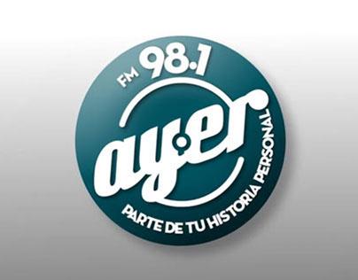 Logo Animado FM AYER