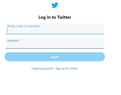 Twitter prototype