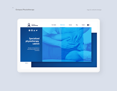 Octopus Physiotherapy - Logo & Web Design