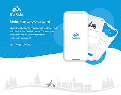 IOS : Go Ride App