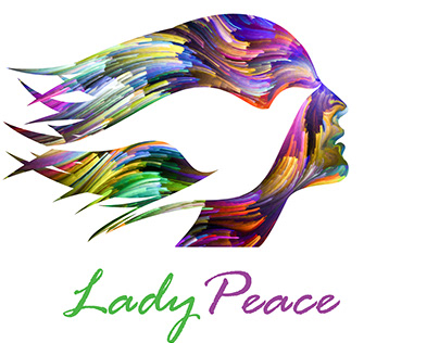 Lady Peace graphic and web design (2018)
