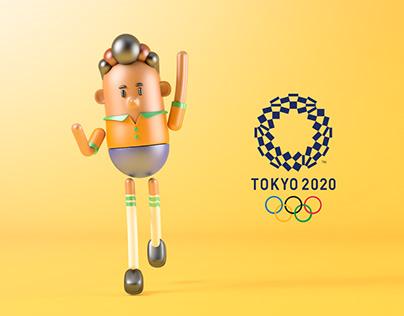 Mascotes Olímpicos de Futebol