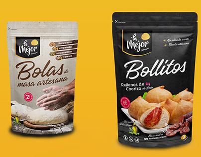 """Packaging """"La Mejor"""""""