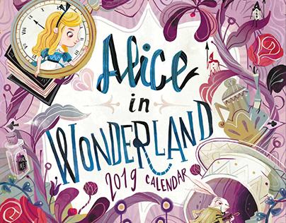 Alice in wonderland - Calendar 2019 - Legami