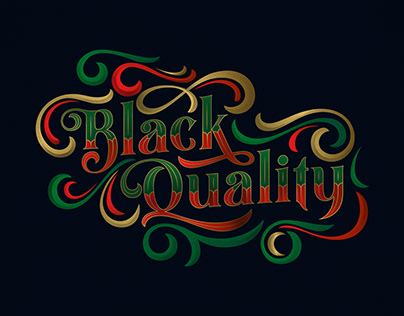 Black Quality Typeface