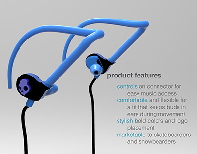 engage earbud concept