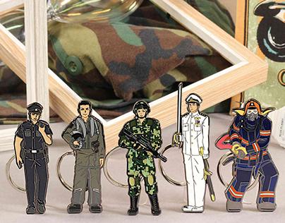 Miniature Stories PinChain