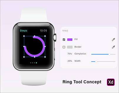 Ring Tool Concept for Adobe XD