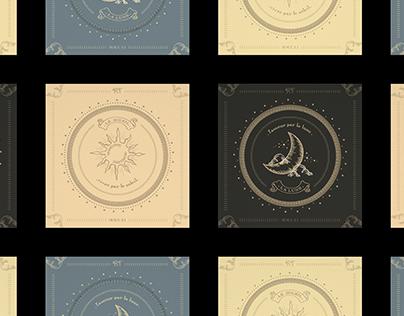 RT - Celestial Series (Sun and Moon)