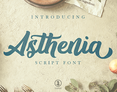 Asthenia Script Font