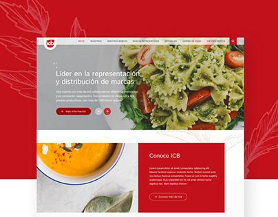 ICB · Sitio Web