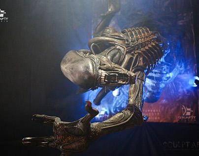 Alien - fan art sculpture