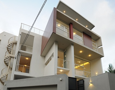 Jeeva & Channa Horombuwa House - Architects' Own House