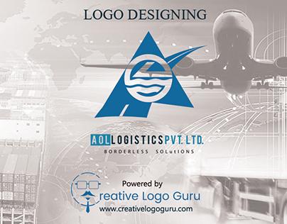 Logo Designing Project Aol Logistics PVT. LTD. #logisti