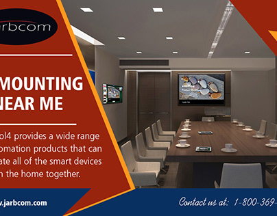 TV Mounting Near me | Call - 1-800-369-0374 | jarbcom.c