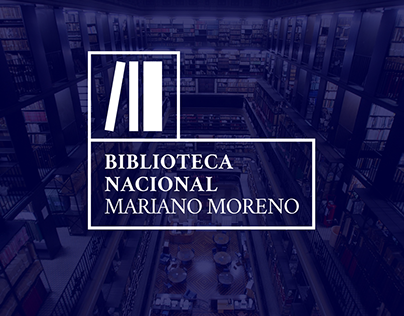 Re-branding for the Argentinian National Library.