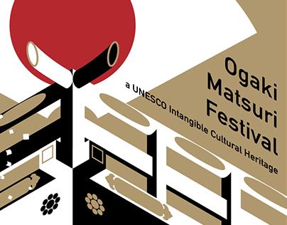 Ogaki Matsuri Festival Poster