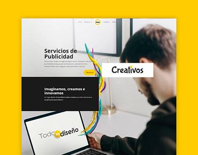 Project website for Dego Studio