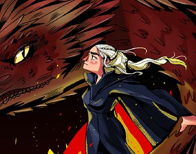 Daenerys Targaryen | Illustration