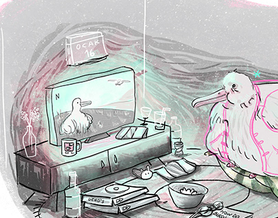 Our Planet Illustration | Birds