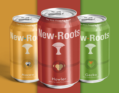 New Roots / A Soda With A Biodegradable Can
