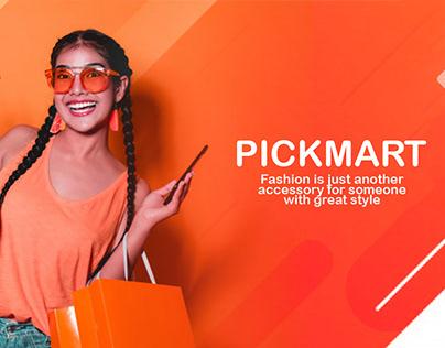 PICKMART UI/UX Design