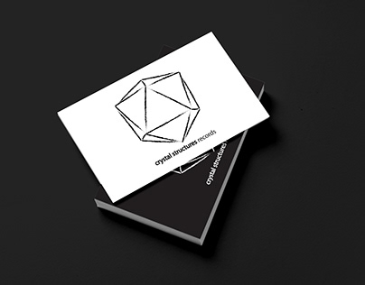 Brand Identity done for Crystal Structures Records.