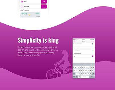 UI/UX design Event Planning & Decision-Making Platform