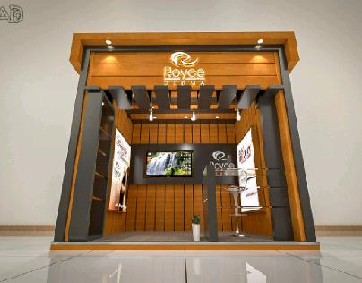 Royce derma booth