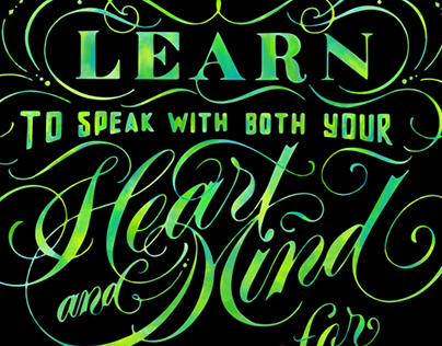 Learn to Speak with both your Mind and Heart