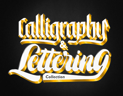 Calligraphy & Lettering collection 2019