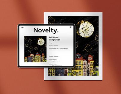 Illustrations for Novelty magazine