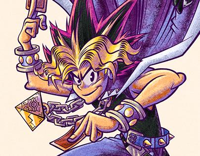 Yu-Gi-Oh! illustration