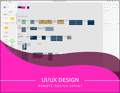 Remote Design Sprint in Adobe XD