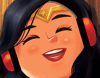 Casual Wonder Woman