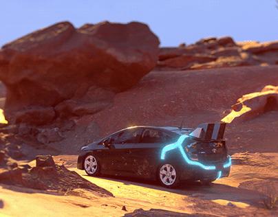 Back to the future -Toyota prius
