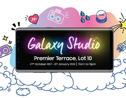 Samsung Galaxy Studio Digital Postings