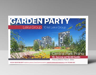Invitation to the 10-year anniversary of Lekvi Group